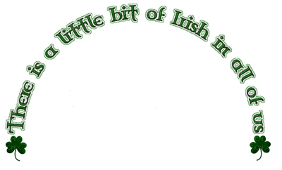text deco st patrick