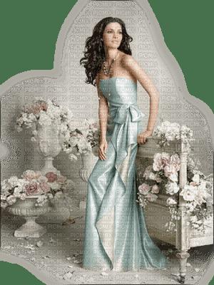 Femme et décor