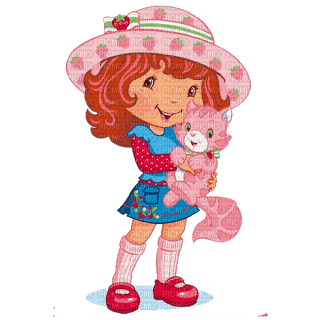 Kaz_Creations Cute Kids Cartoon Strawberry Shortcake