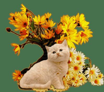 Kaz_Creations Animals Animal Cats Cat Kitten Flowers Deco
