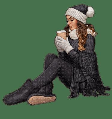 Kaz_Creations Woman Femme Colours Colour-Girls Winter