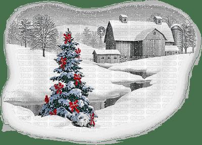 paysage hiver noel loly33