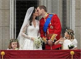 Kate et Wiliam qui s'embrasse