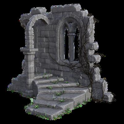 ruins, rauniot, sisustus, decor