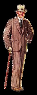 1920's fashion, men & woman bp
