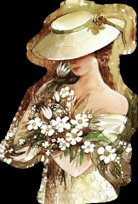 vintage woman femme