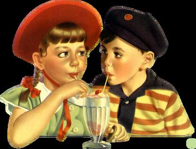 Kaz_Creations Children Friends Ice Cream