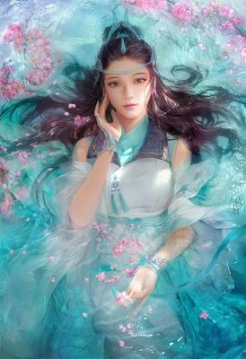woman fantasy laurachan