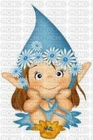 Petit elfe bleu
