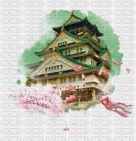 Fond paysage japonais
