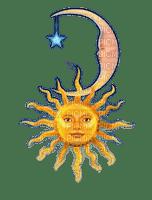 Rena Sonne Mond Yellow Blue Gelb blau