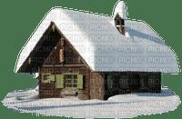 winter hiver house hut maison snow neige