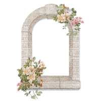 vintage, flowers,  window, white