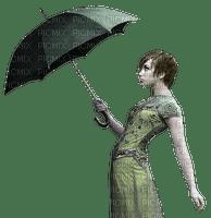 woman umbrella femme parapluie