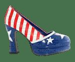 Kathleen Reynolds 4th July American USA Shoe