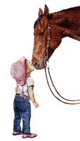 enfant cheval boy horse