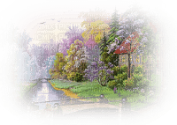 river flux garden jardin summer ete background fond spring printemps frühling primavera весна wiosna paysage landscape tube