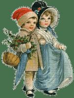 enfants hiver vintage winter christmas childs