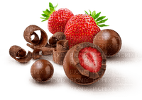 Strawberry  Red Chocolate Green Brown -  Bogusia