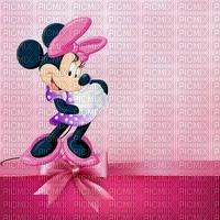 image encre bon anniversaire color effet Minnie Disney edited by me