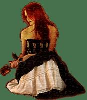 femme rose gothique woman goth