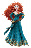image encre bon anniversaire color effet princesse  Merida Disney dessin edited by me