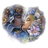 josephine wall artwork fantasy couple