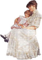 maman fillette mom and child