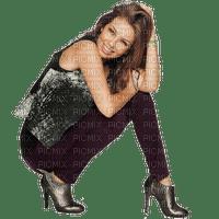 Woman Black Brown Silver - Bogusia