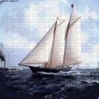 ship on ocean bateau ocêan paysage