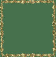 gold deco frame cadre dore