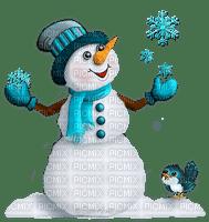 chantalmi déco noël gif bonhomme de neige snowman