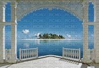 terrace summer sea island