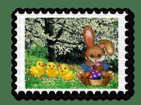 Easter postage stamp
