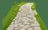 trädgårds gång