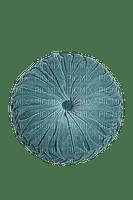 turquoise round pillow