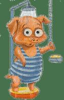 munot - dusche schwein - shower pig - douche porc