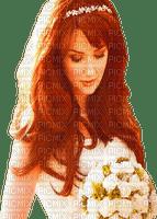 Beautiful Redhead Woman Bride