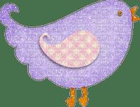 Bird.Oiseau.Deco.violet.Victoriabea