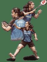 Kaz_Creations Woman Femme Girl Playing Badminton