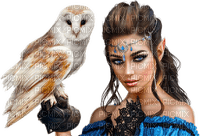 Kaz_Creations Woman Femme Birds Bird Owl