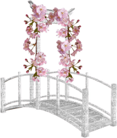 Kaz_Creations Deco Bridge Flowers Garden
