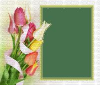Cadre.Frame.Tulipes.Tulips.Easter.Pâques.Victoriabea