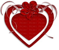 Kaz_Creations Love Heart Ribbons Bows  Valentines