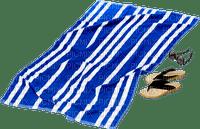 Beach towel strandtuch serviette de plage blue tube deco summer ete plage strand handtuch sommer