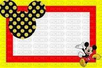 image encre bon anniversaire ink ivk effet multicolore Mickey Disney edited by me