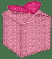Kaz_Creations Deco Gift Box Present Love Heart Valentine's Hearts Colours