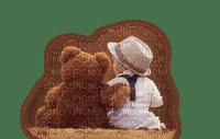 boy-teddy bear-garçon-Ours en peluche-bambino-ragazzo-orsacchiotto-pojke-nalle-child-barn-Enfant-minou