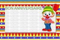 image encre bon anniversaire color effet ballon cirque pitre  edited by me