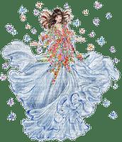 femme avec papillon.Cheyenne63